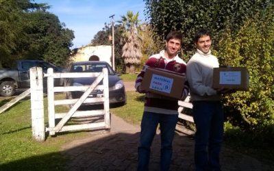 Primera entrega Donación de Libros a las Escuelas Rurales