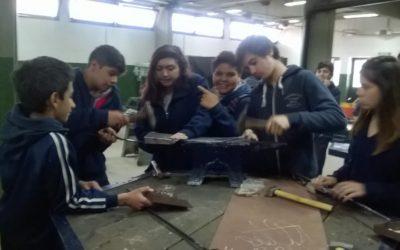 Visita a Escuela Técnica de Capitán Sarmiento