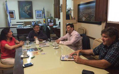 Reunión con el Señor Intendente Carlos Puglielli