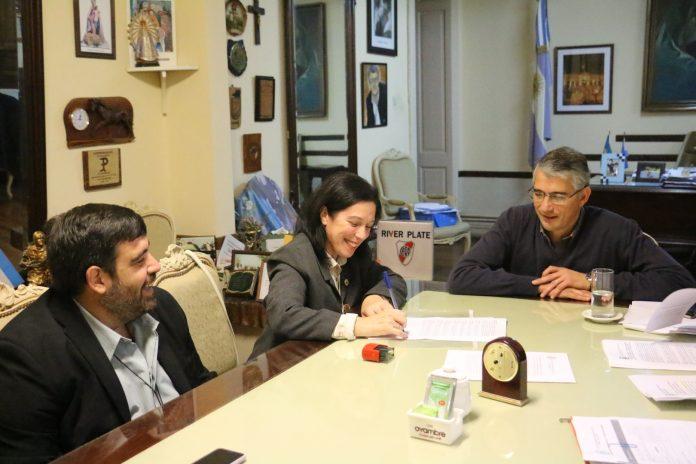 """El Instituto """"Gral San Martín"""" firmó convenio marco con la Municipalidad"""
