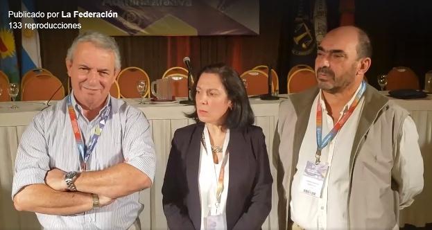 Disertación del equipo de capacitación de UTN sede extensión San Andrés de Giles en el congreso de la Asociación de Bomberos Voluntarios en Mar del Plata